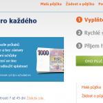 Malá půjčka od Tisickorun.cz