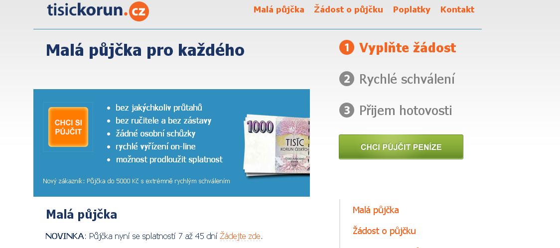 Malá půjčka pro každého